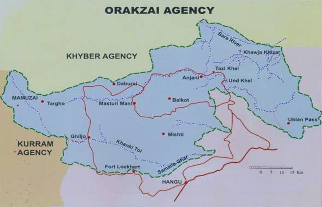 orakzai agency