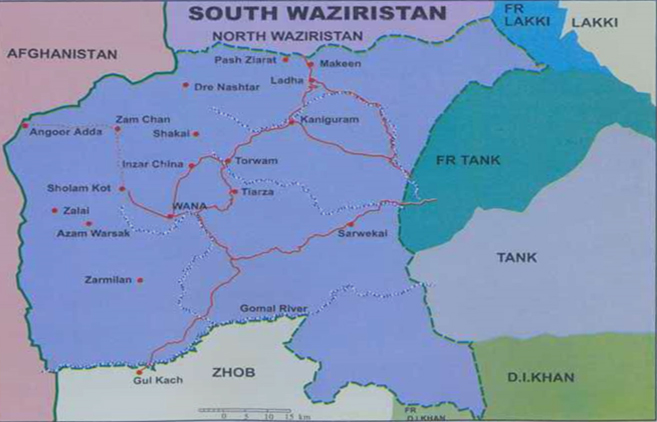 south wazir